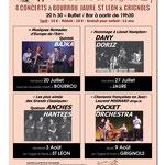 Affiche format A3 - 17eme Rencontres Artistiques - Grignols
