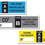Autocollants format 125x40mm - SIP - La Chapelle Aubareil
