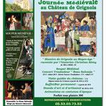 Affiche format A3 - 6eme Festival HisTouArts - Grignols