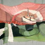 Trapo - Monocopia s/tela teñida y cocida - 100x70cm - 2012 - Nicole Engelhardt