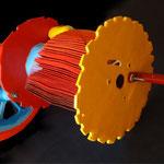 Escultura boba - Técnica mixta - 60x45x32cm -Jimena Geri