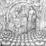 Elcosejo - tríptico - Dibujo - Susana Rovó
