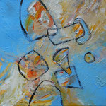 2012 - Replanteo pictórico - 40x40cm - Acrílico - Cecilia Lackinger