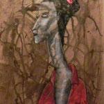 Estudio de mujer - Luz Victoria Piña