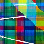 """とうげ """"Pass"""" watercolors, acrylics on canvas, 652×530mm, 2010"""