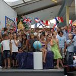 Der kleine Reisebär, Juli 2012, Frau Langbein