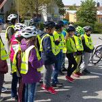 Fahrradführerschein 4. Klasse