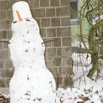 ... ein Schneemann!