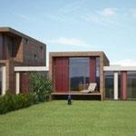 Entwurf Doppelhaus Harterstrasse Kumberg