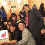 黒田家&大貫家とケーキでパチり。