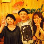 田中さん、プッチモさん、林田さんと