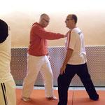 Soke Giovanni Boscarello im Zen-Ki-Budo