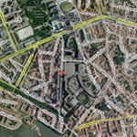 Velib', métro, bus ... plein centre ville !