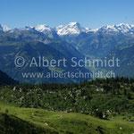 Glarner Alpen von Alp Beglingen