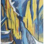 Vorab-Westwand / Tempera & Kreide / 1988 / Privatbesitz