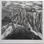 Zwölfihoren- SW-Radierung - 10 Ex. 1988