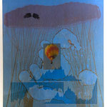 Der Traum vom Fliegen, Aquatinta, mehrfarbig, 1 EA.Ex./ 1993