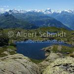 Obere Fessisseen mit Glarner Alpen