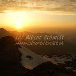 Sonnenuntergang auf dem Schilt - 21'30 h