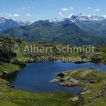 Unterer Fessissee mit Glarner Alpen