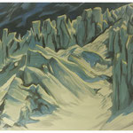 Bifertengletscher I / Aquarell / 2011 / Privatbesitz