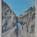 Geologie Martinsloch I-Aquarell 39x28 cm- PP.60x48-2014