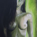 """Morbide Beauty"" Acryl auf Leinwand - © Copyright by Eddie"