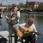 Zum Ablegen bekommen wir noch musikalische Unterstützung, Danke Mag und Ossi !
