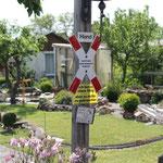 eine traumhafte Umsetzung einer Modeleisenbahnanlage im Kleingarten