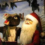 """Weihnachtsmann mit """"Fahrer"""""""