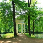 Schlosspark Lützschena - auch gern besucht von Robert Schumann