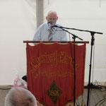 Eröffnung der Festveranstaltung durch den Vereinsvorsitzenden Frank Mielck