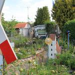 Manch einer nutzt seinen Garten eben nicht zum Anpflanzen von Gemüse