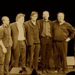 Februar 2014 im Tiff mit Jörg Seidel, Frank Hauschild, Gerold Donker und Christian Schönefeld