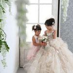 府中市フォトスタジオLaLa7歳3歳七五三ドレス