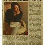 Bericht in der Halleiner Stadtzeitung