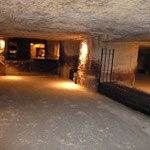 Des caves exceptionnelles, anciennes carrières de pierres