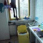 Unsere Waschküche, ab und zu auch illegale Kochstelle