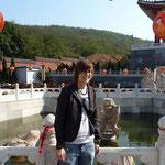 In der Tempel-Anlage neben dem Zoo