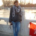 der zugefrorene See in der Altstadt