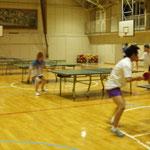 土合小学校での練習風景