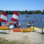 Baraqueville : Lac du Val de Lenne
