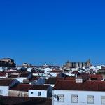 Zicht op Evora
