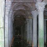 Istanbul: de ondergrondse cisternes