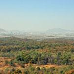 Zicht op Noord-Korea vanop de DMZ