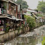 Het leven langs de Khlongs (kanalen)
