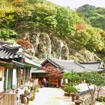 De tempel van Cheongnyangsa