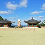 Op de top van Guinsa tempel
