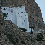 Amorgos: het klooster van Hozoviotissa