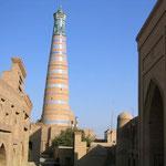 Khiva - stad op de zijderoute